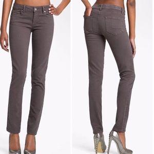 PAIGE jeans skyline skinny gray NEW!